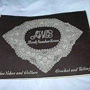 AWB Crochet & Tatting New Yokes & Collars Book #7 1916 Needlework Book