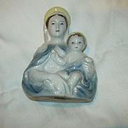 Goldscheider Virgin Mary & Infant Bust Figurine