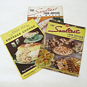 Recipe Booklets From The Sealtest Kitchen 1930s and 1954