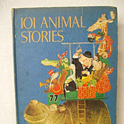 SALE 101 Animal Stories - A Delightful Read-Aloud Book