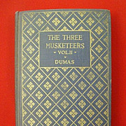 SALE The Three Musketeers, Vol. II By Alexander Dumas