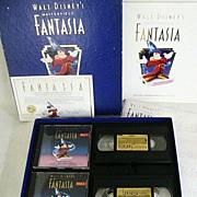 SALE Disney's 1991 Fantasia Commemorative Edition - Boxed Set