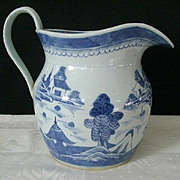 SALE Traditional Large Chinese Canton Water Pitcher