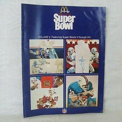 McDonald's History of the Super Bowl (V thru VIII)