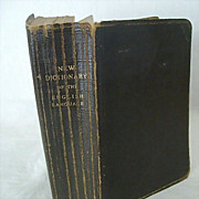 SALE Collier's New Dictionary of the English Language 1925