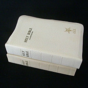 SOLD Matching Eastern Star Bibles Presented June 1946