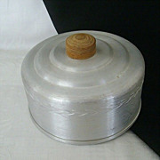 Spun Aluminum Cheese Cover Lid