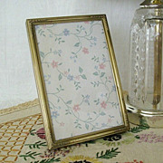 SOLD Mid-Century Photo Frame For Desk or Tabletop