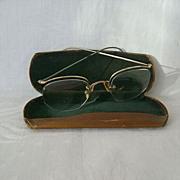 SALE Decorative 1930s Gold-Filled Ladies Eyeglasses