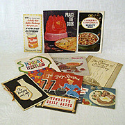 Collection of Ten Vintage Recipe Pamphlets