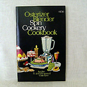 Osterizer Blender Spin Cookery Cookbook 1975