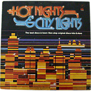 SALE Hot Nights: City Lights LP with The Jacksons