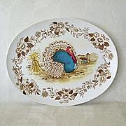 SALE Melmac Royal Nottingham1970s Turkey Platter