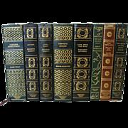 SOLD Book Club Series American Novelists - 8 Volumes - Red Tag Sale Item