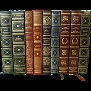 SOLD Book Club Series British Novelists - 9 Volumes - Red Tag Sale Item