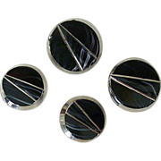 SOLD Mid-Century Buttons With Distinctive Design