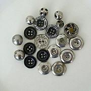 SALE Vintage Collection Metal Buttons
