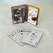SALE Kent Cigarette Playing Cards with Case
