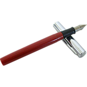 SALE Red Sheaffer Fountain Pen A Favorite For Students