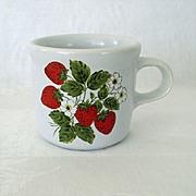 McCoy Strawberry Small Mug