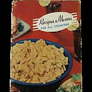 SALE Rare Frito Lay Cookbook 1947