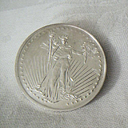 Brilliant SilverTowne Trade Coin