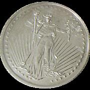 Brilliant SilverTowne Trade Coin