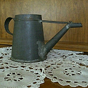 SALE Primitive Lamp Oil Filler Hand Crafted Before 1900