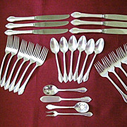 Rogers Bros. 1948  Silver Plate Settings for Six - Remembrance