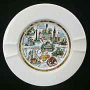 SALE Ohio Souvenir Ashtray 1950's