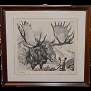 Print Titled Pa and Ma  by RH Palenske Circa 1910