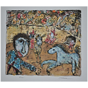 Horse and Clown