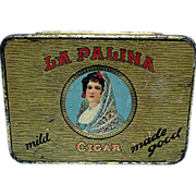 Advertising Pocket Cigar Tin La Palina