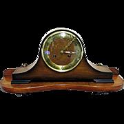 Clock Shelf Solid Walnut