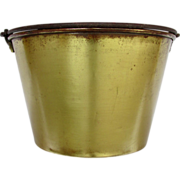 SALE Haydens Brass Kettle, Bucket Pail or Pot
