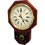 SALE Waterbury Calendar Wall Clock