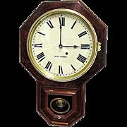 SALE Antique Rosewood Seth Thomas Wall Clock