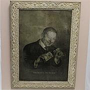 SOLD Advertising Tin Sign Garrick Club Old Rye Whiskey