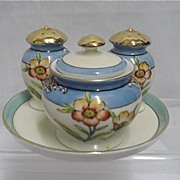 SALE Noritake Condiment Set with Tray 50% OFF