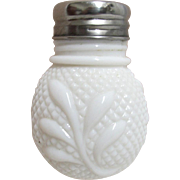 EAPG Diamond Point and Leaf Pattern Single Shaker