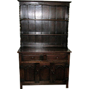 SALE Welsh Cupboard 19th Century Oak