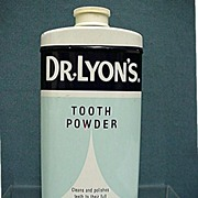 SALE Doctor Lyons Tooth Powder Tin Mint Unopened Condition