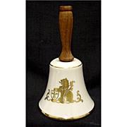 SALE Porcelain Dinner Bell Pickard China