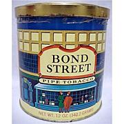 Bond Street 12 ounce Tobacco Tin 50% OFF