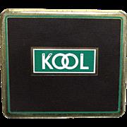 REDUCED KOOL Cigarette Flat  Advertising Tobacco Tin