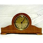 SALE Clock Miniature German Tambour with Alarm 50% OFF