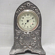 New Haven Mantel Clock  Pewter Finish 50% OFF