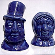 REDUCED Salt and Pepper Set Sairey Gamp and Mr. Micawber