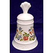 SALE Porcelain Dinner Bell Ansley China