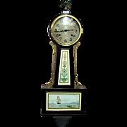 SALE Banjo Clock Restored Antique New Haven Clock 100% Original